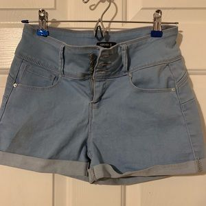 Cute and comfy-stretchy shorts!